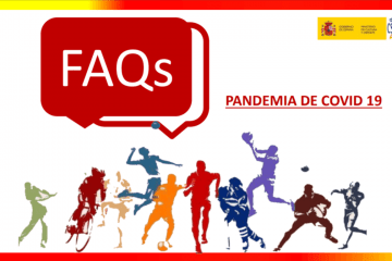 FAQs guía deportiva pandemia covid-19